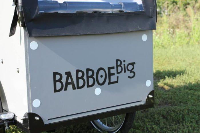 Babboe Big E Lastenrad Sicherit erhöhen durch Reflektoren