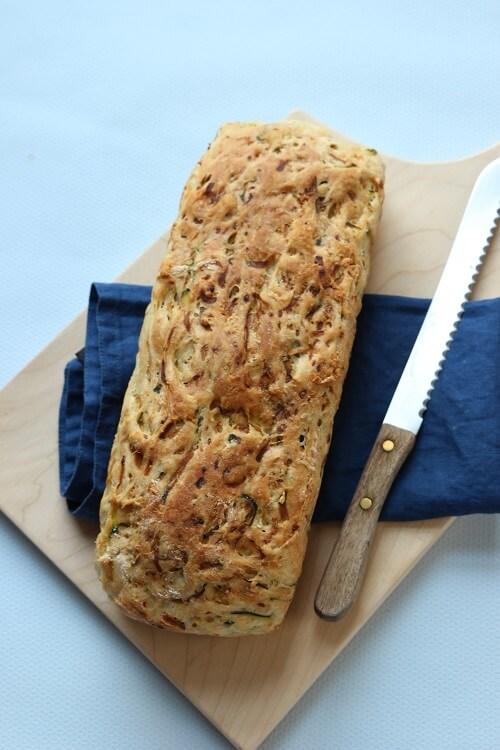 Brot backen einfach - Zucchinibrot