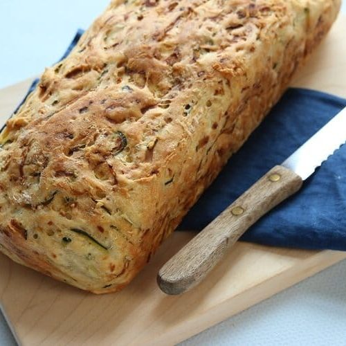Ganz einfach Brot selber backen mit Zucchini