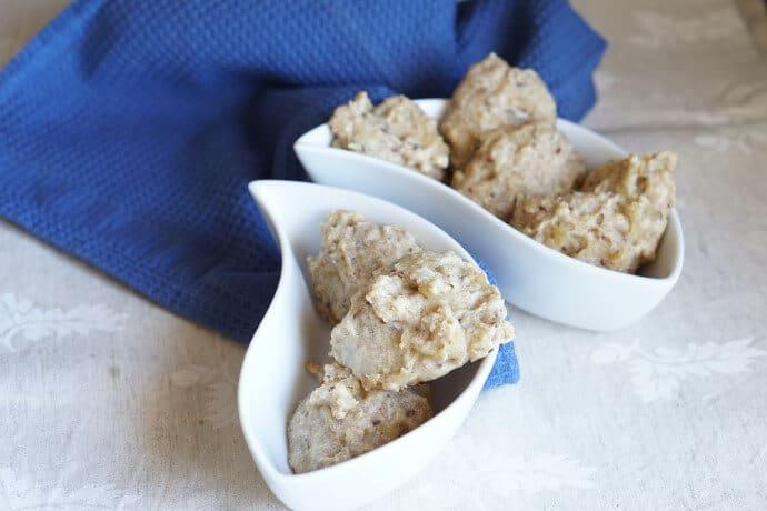 Frühstück für dein Baby - unser breifrei und BLW Rezept für Apfelkekse ohne Zucker