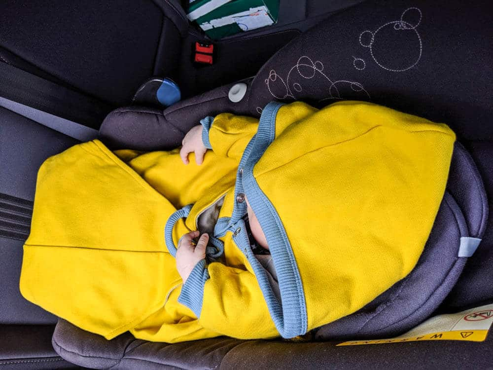 Babydecke für den Maxi Cosi