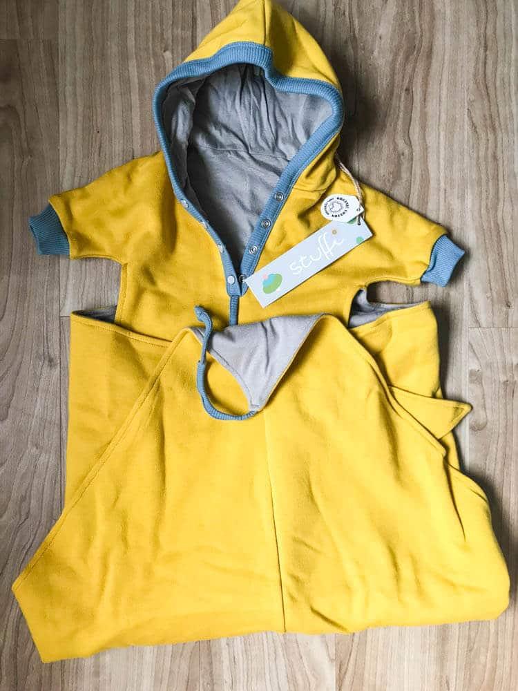 Babydecke gelb für Neugeborene