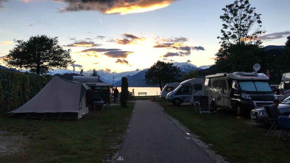 Camping mit Kindern Campingplatz BRunner am Millstädter See
