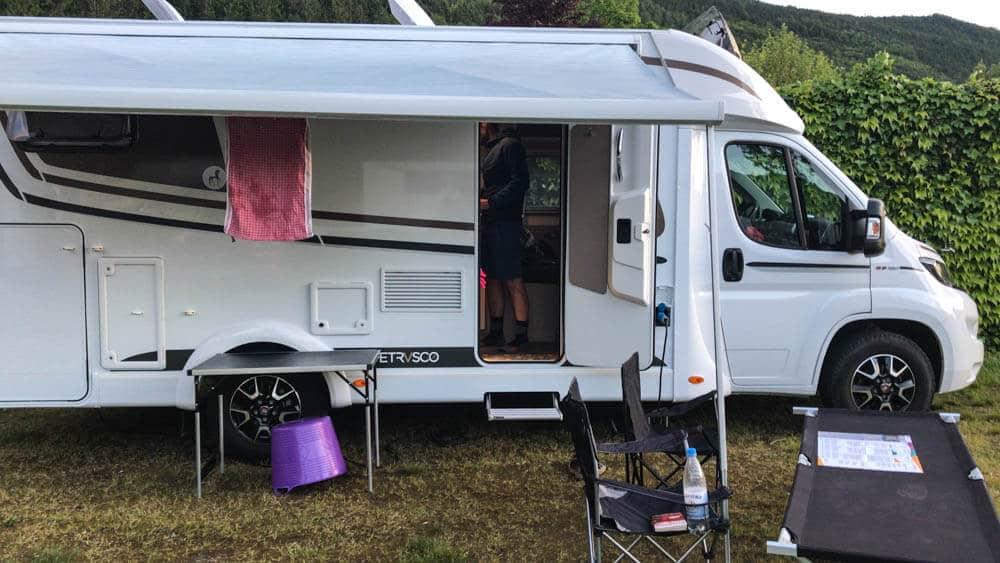 Camping mit dem Etrusko Wohnmobil