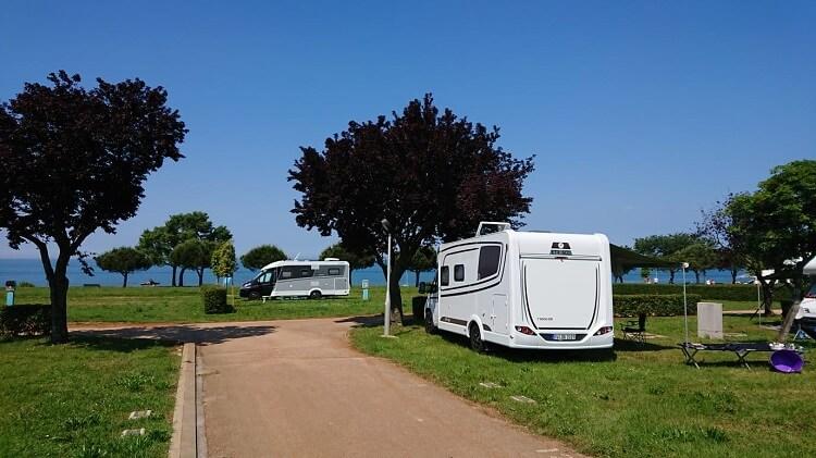Campingplätze mit Kindern in Kroatien - Umag am Meer
