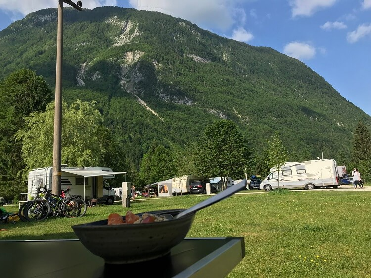 Kamp Soca Campingplatz in Slowenien