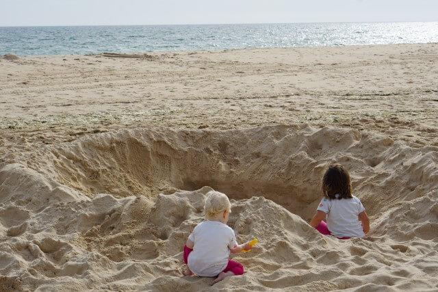 Familienurlaub - Strandurlaub in der Elternzeit Reise in Portugal