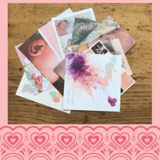 Karten zur Geburt schreiben, basteln und bestellen