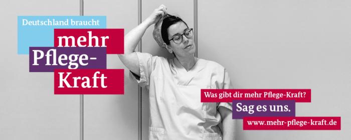 (Anzeige) Mehr Pflege-Kraft: eine Kampagne des Bundesministeriums für Gesundheit für mehr Wertschätzung und bessere Arbeitsbedingungen im Pflegeberuf