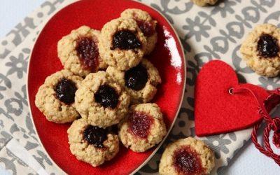 Glutenfreie Plätzchen ohne Zucker – Husarenkrapfen backen in der Weihnachtszeit