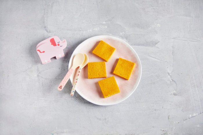 Polentaschntiten für dein Baby - einfache und schnelle Rezepte für Frühstück und Mittagessen für Babys und Kinder