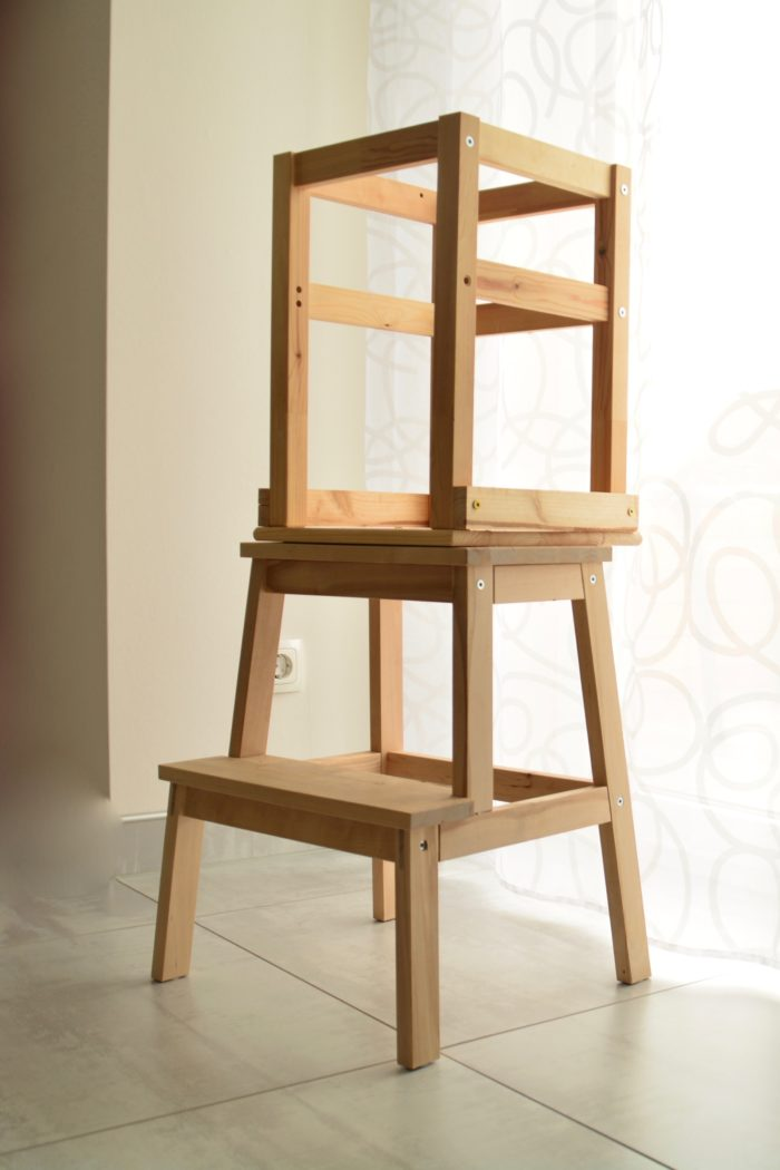 Learning Tower selber bauen mit Ikea Hack