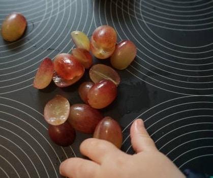 Ungeeignete Lebensmittel Trauben - prallelastisch