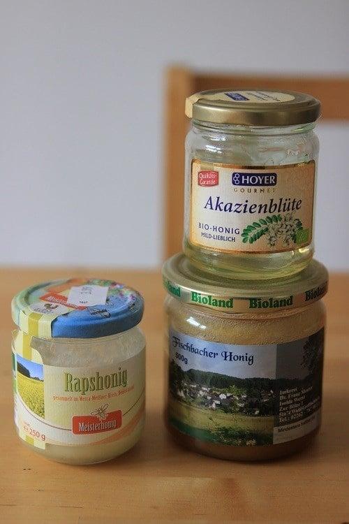 UNgeeignete Lebensmittel für Babys - Honig