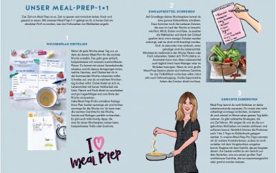 Meal Prep für Familien – mein neues Kochbuch + Verlosung