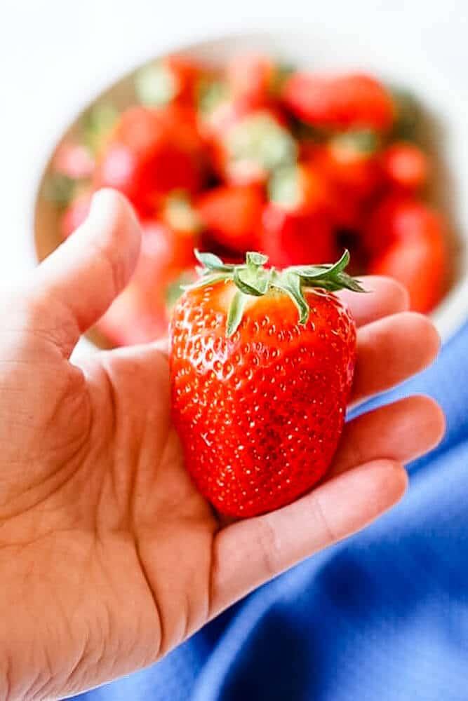 Erdbeeren Baby