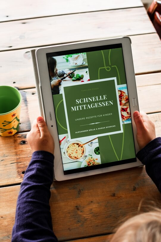 Schnelles Essen für Kinder - E-Book