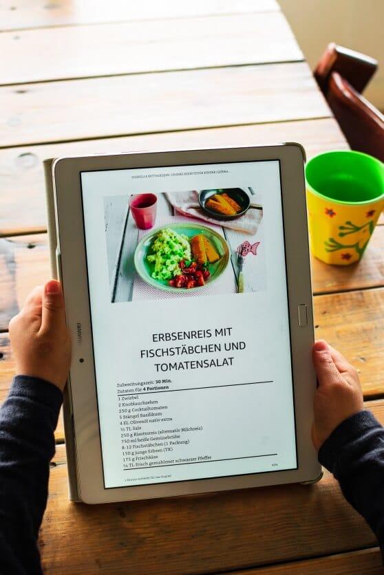 E-Book Mittagessen für Kinder