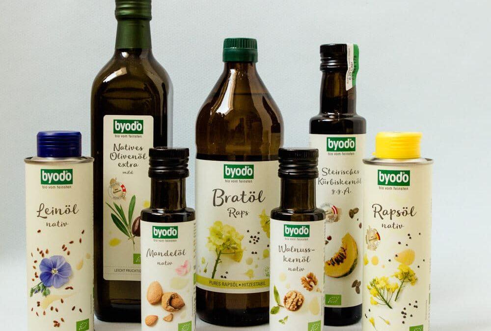 [Anzeige] Welches Öl zum Braten, Backen und Frittieren? Wir stellen dir Familienöle von Byodo vor!