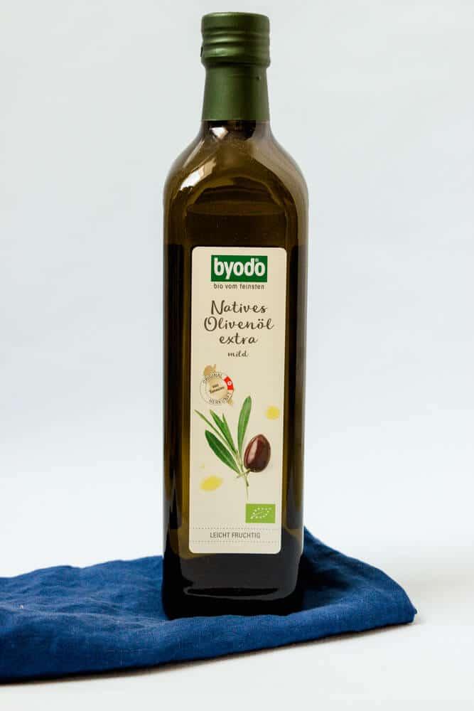 Natives Olivenöl zum Braten