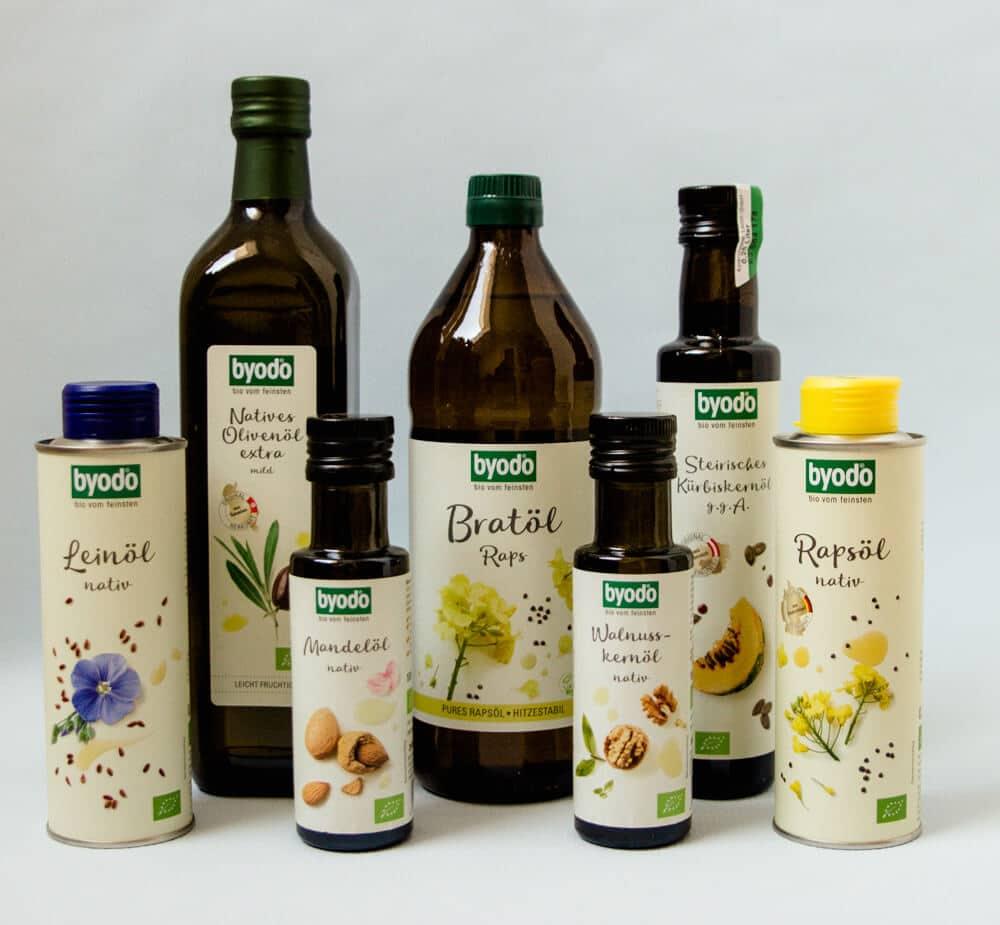 Welches Öl zum braten, backen und frittieren?