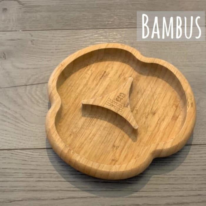 Bambusteller von Bamboo Bamboo als Babyteller - welches Material für das Geschirr von Babys genutzt werden kann und welches nicht erfährst du in unserem ausführlichen Beitrag