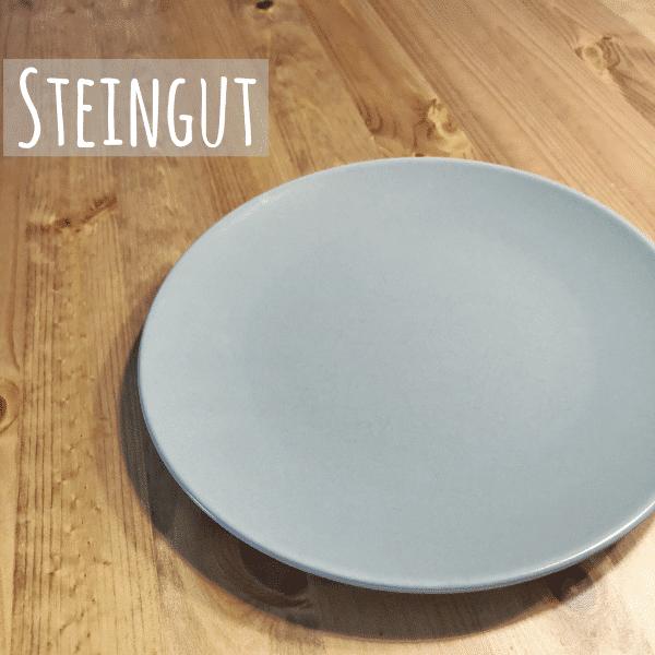 Essteller aus Steingut - Teller für breifrei Rezepte und BLW Gerichte