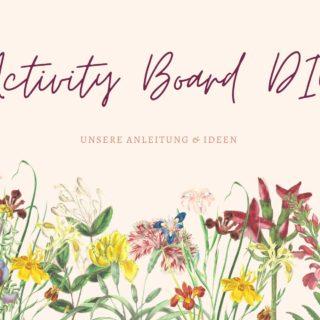 Activity Board DIY