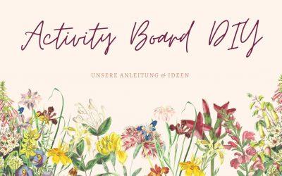 Activity Board DIY – so geht das selbst bauen für dein Baby
