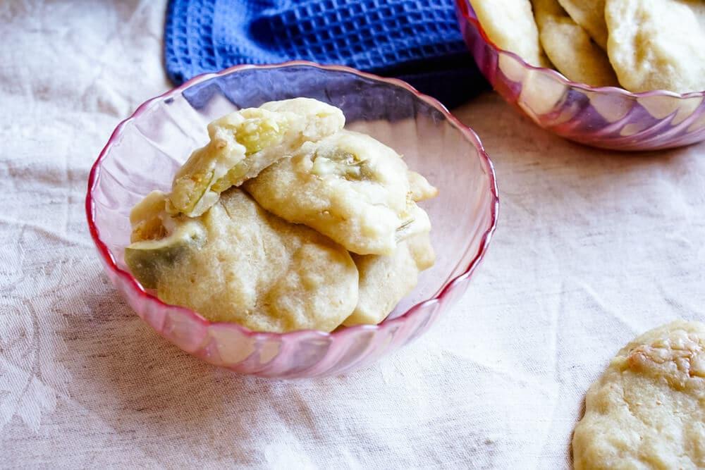 Kekse ohne Zucker mit Birne und Feigen