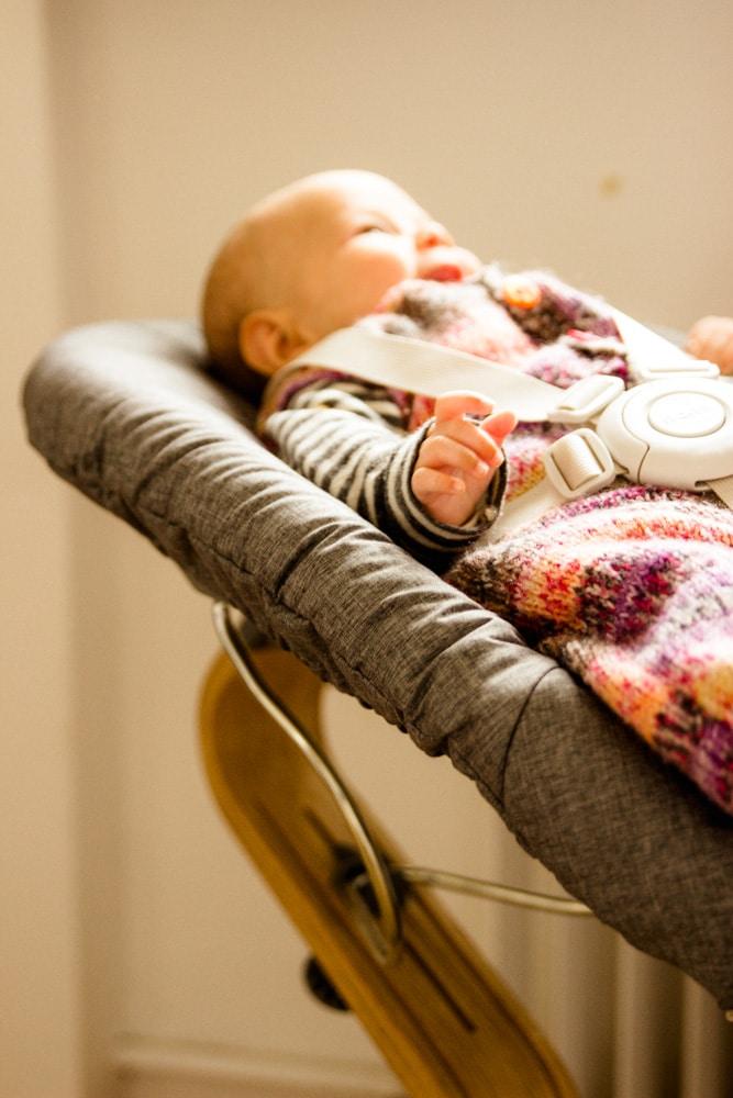 Babyschale Nomi Hochstuhl