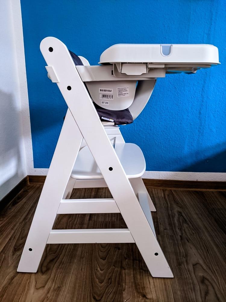 Hauck Alpha, ab wann dürfen Babys im Hochstuhl sitzen