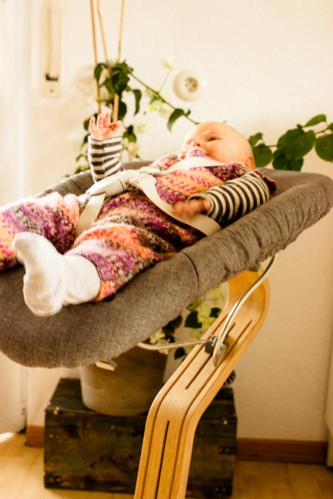 Nomi Hochstuhl mit Babyschale