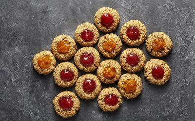Zuckerfreie Plätzchen backen– Weihnachten ohne Zucker & Co. – Husarenkrapfen Rezept