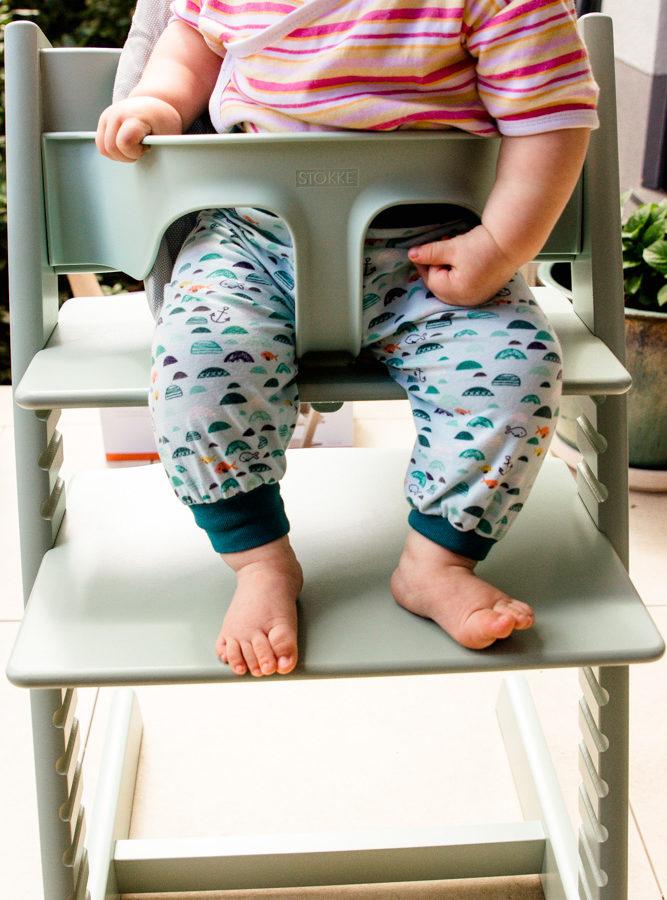 Babys müssen sich hinsetzen können für die Beikost