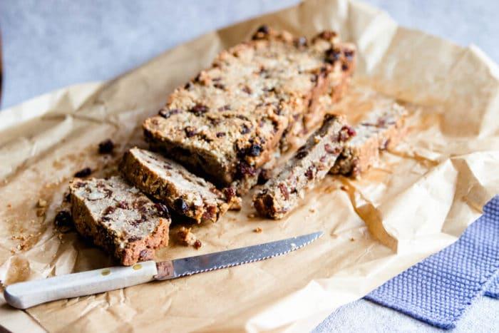 Früchtebor backen - unser Geschenk aus der Küche für Weihachten und den Advent - zuckerfrei backen mit Mehl