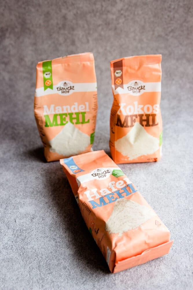 Glutenfreies Mehl - verschiedene glutenfreie Mehle von Bauckhof - lie jetzt, welches Mehl für was verwendet werden kann