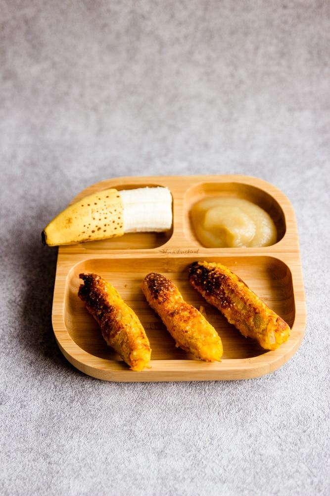 Kürbisstangen als Rezept für dein Baby - breifrei kochen ist einfach und wir zeigen dir schnelle Rezepte mit wenig Zutaten für die ganze Familie als schnelles Mittagessen mit Kürbis