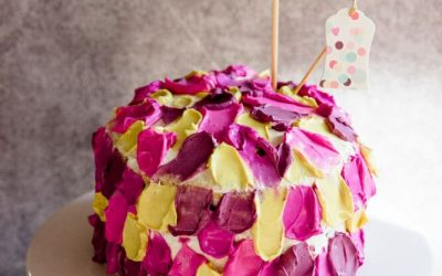 [Anzeige] Einfache Torte zum 1. Geburtstag – mit den natürlichen Lebensmittelfarben von Eat a Rainbow