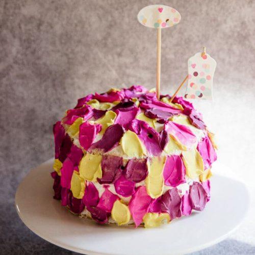 Torte zum 1. Geburtstag - zuckerfrei