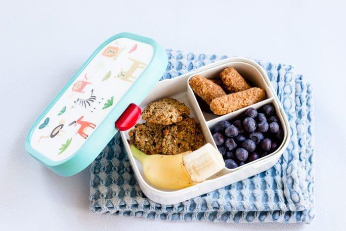 Haferflocken Kekse ohne Zucker perfekt als Picknick-Snack