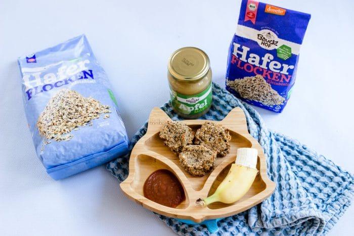 Haferflockenkekse ohne Zuckern für Babys