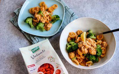 [Anzeige] Pasta Carbonara vegan – mit den glutenfreien Nudeln von Byodo für die ganze Familie kochen