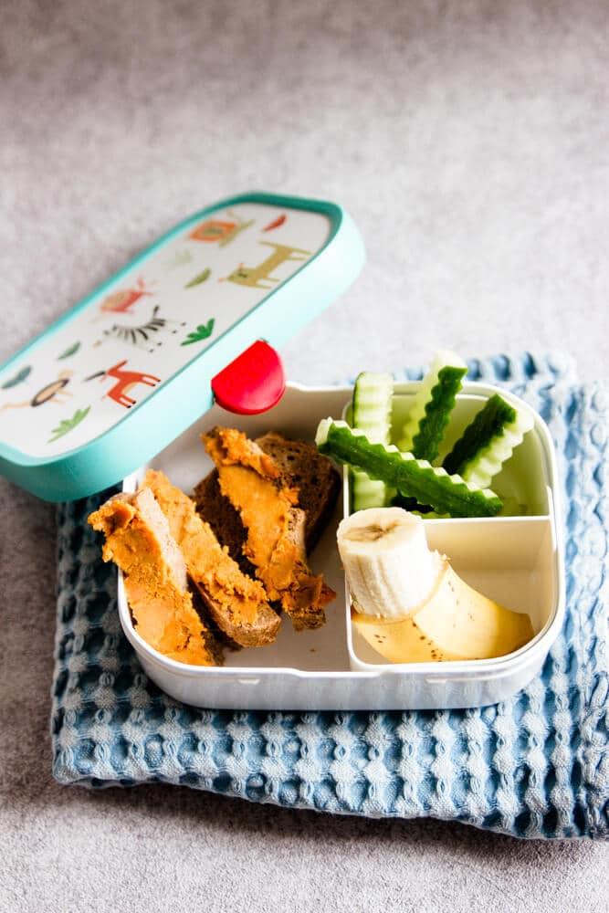 Brotaufstrich für Kinder Kita-Brotdose