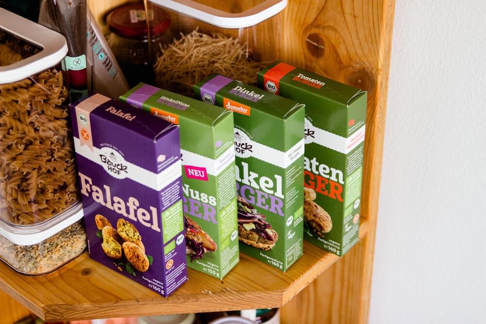 Schnelle Familienküche mit Fertigprodukten von Bauckhof